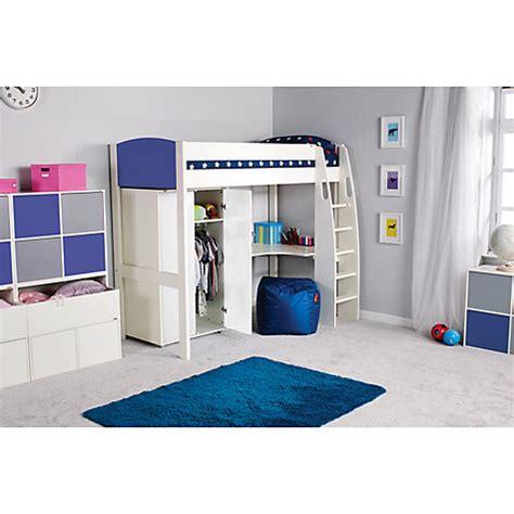 High Sleeper Tent by Modular Storage Wardrobe White By Stompa