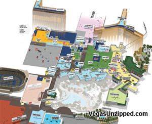 Caesars Palace Las Vegas Floor Plan las vegas hotel and casino property maps list