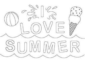 summertime coloring pages summer number coloring pages