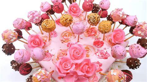 CAKE POPS DECORATING IDEAS   BUTTERCREAM CAKE POPS IN