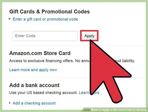 Apply For Gift Card - 3 ways to apply a gift card code to amazon wikihow