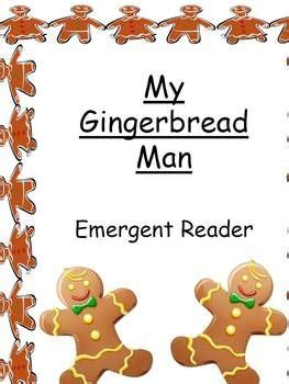 gingerbread man printable emergent reader pinterest the world s catalog of ideas