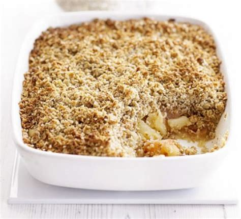 Easy Summer Entertaining Recipes - spicy apple crumble recipe bbc good food
