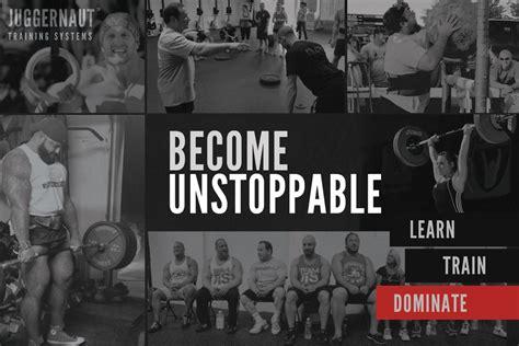 Becoming Unstoppable seminars juggernaut