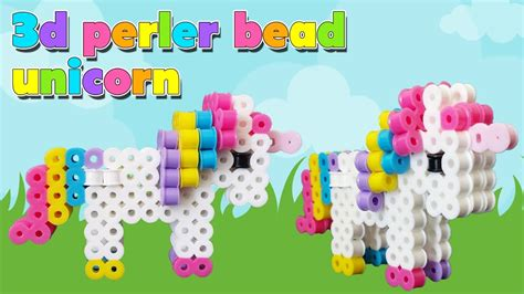 where can you get perler how to make a perler bead 3d unicorn