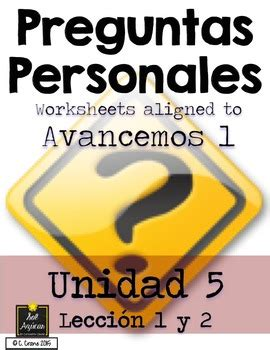 spanish preguntas personales preguntas personales spanish basic question worksheets
