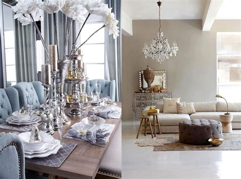 neutral metallics interior design trends  home decor