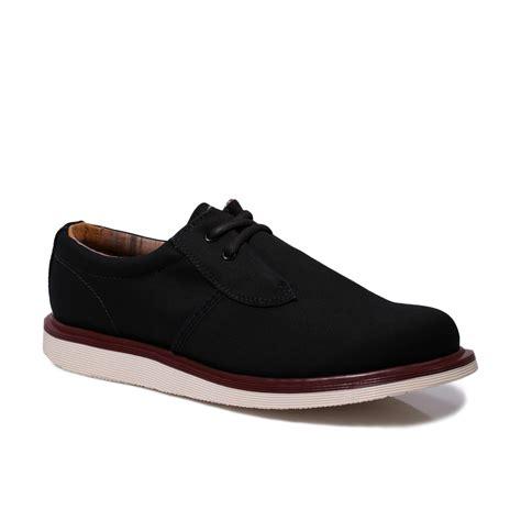 dr martens s regan black canvas mens womens shoes size