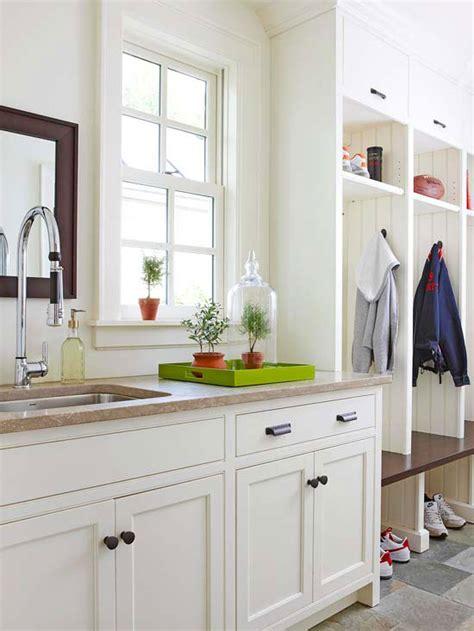 mud room sink cottage laundry room
