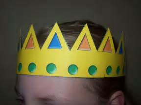 Papercraft Crown - 8 best images of free printable crown craft free