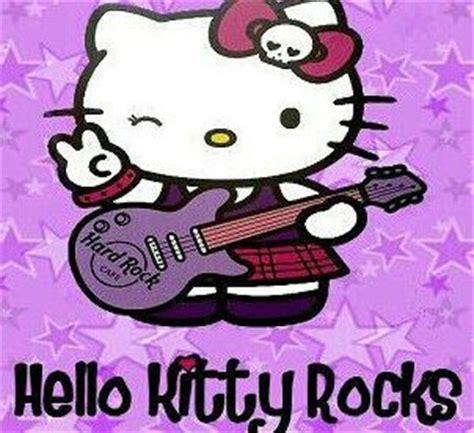 hello kitty wallpaper roll hello kitty hk rock roll pinterest