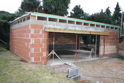 kosten garage bauen mein baublog garage der 196 rger mit dem dachdecker geht