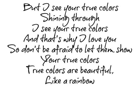 lyrics to colors true colors phil collins is the air i breathe