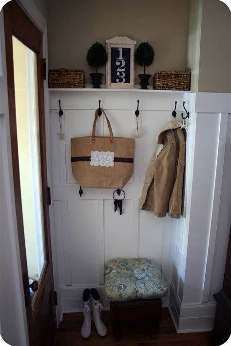 foyer room mudroom reveal and bonus how to drill home stories a to z
