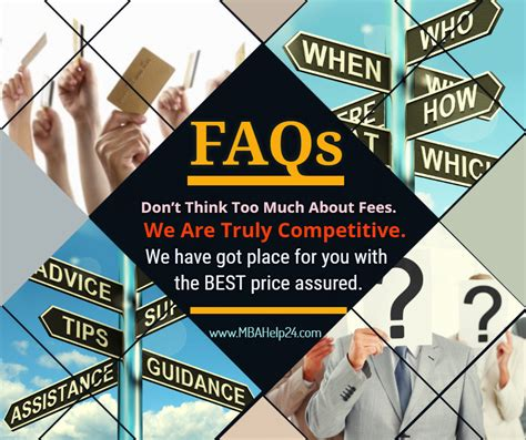 Frequently Asked Questions In Mba Finance by Frequently Asked Questions Faqs Mba Coursework