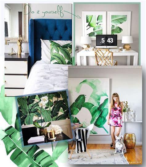 diy tropical leaves art think crafts by createforless best 25 leaf prints ideas on pinterest minimal design