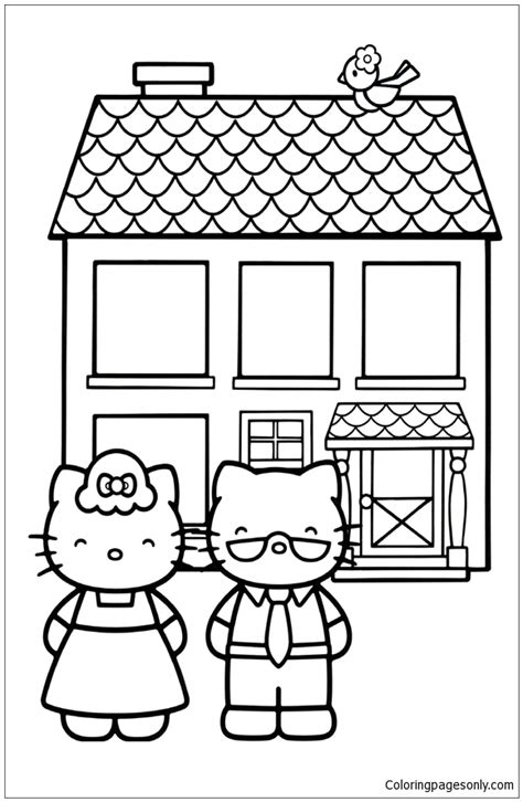 hello kitty baking coloring pages hello kitty baking pages coloring pages