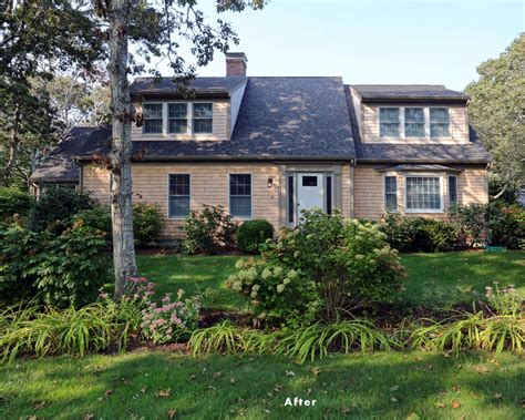 cape cod home remodel provides better floor plan