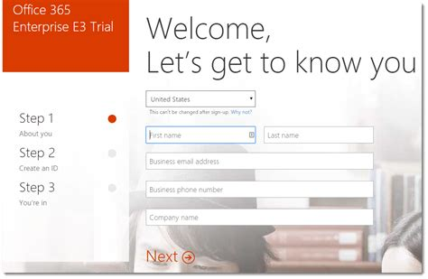 Office 365 Tenant Id How To Create A Trial Tenant In Office 365 Microsoft
