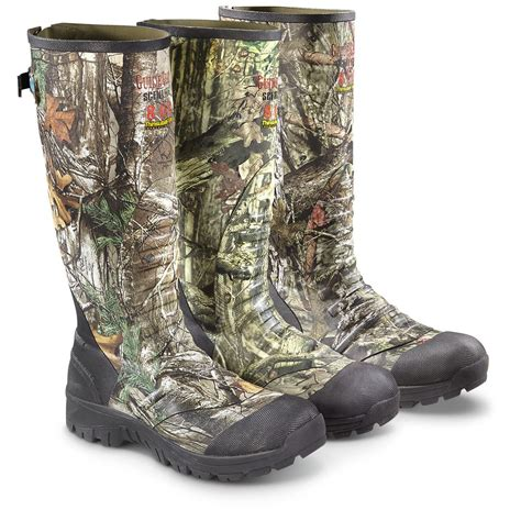 Insulated Rubber Boots by Guide Gear S Ankle Fit Insulated Rubber Boots 800