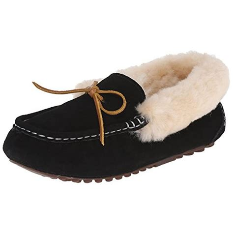 slippers for womens in india pajar 1532 womens india suede faux fur lined moccasin