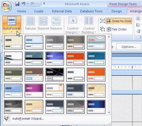 Microsoft Access Database Lesson Lesson 9 The Characteristics Of A Form Microsoft Access Forms Templates