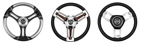 boat steering wheel with horn schmitt ongaro marine products boat steering wheels