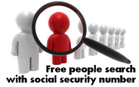 Social Security Number Lookup Free Free Search With Social Security Numberfind And Businesses Verify And