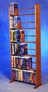 disney vhs dowel storage rack holds  jumbo vhs tapes