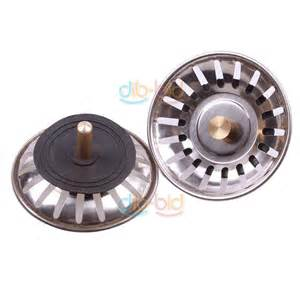 kitchen stainless steel sink strainer waste disposer