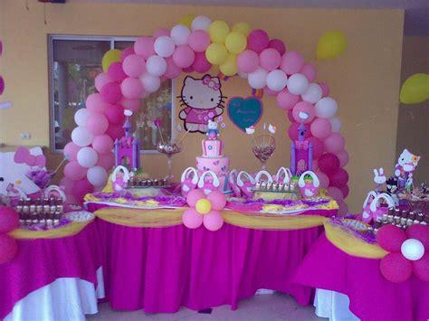 decoracion fiesta fiesta de hello kitty necesito ideas para decorar