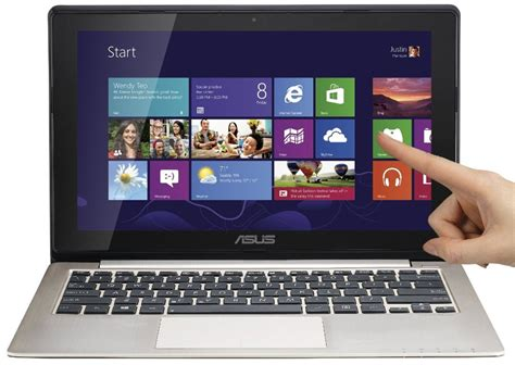 Laptop Asus Touch Screen Windows 8 asus vivobook x202e dh31t new touch screen windows 8 laptop
