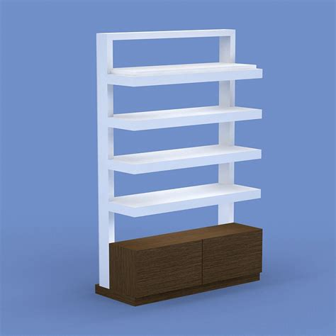 Enlightenment Air Retail Wall Unit Salon Furniture Salon Displays