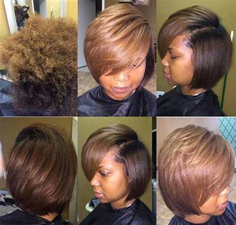 short pressed hairstyles 30 super bob weave hairstyles bob hairstyles 2017