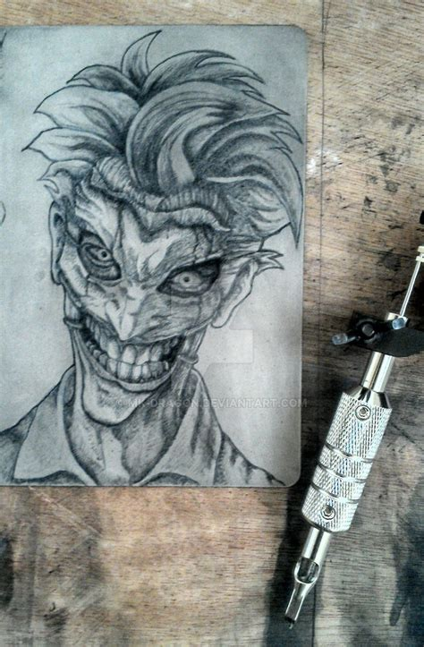 tattoo practice designs practice the joker by mk on deviantart