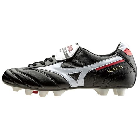 mizuno shoes football mizuno soccer shoes spike morelia 2 p1ga1501 black x white