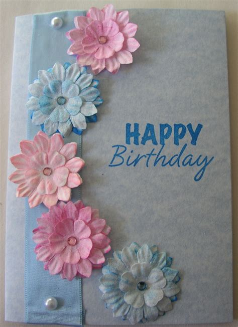 Birthday Card Handmade Ideas - ideas for card