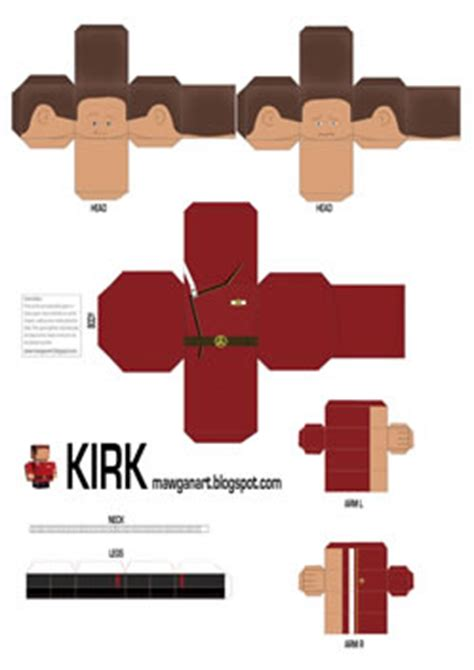 Trek Papercraft - trek papercraft picture to pin on pinsdaddy