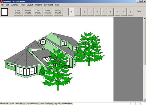 easy to use home design software reviews ez architect for windows 7 and 8 and 10 and xp and vista