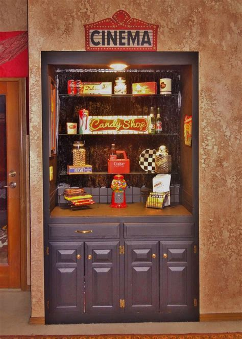 snack bar  theater  room   home