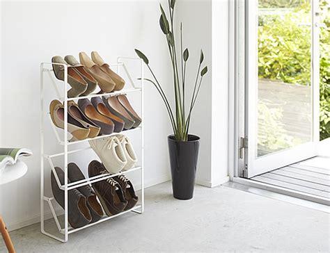 slimline shoe storage ideas store 4 tier slimline shoe rack