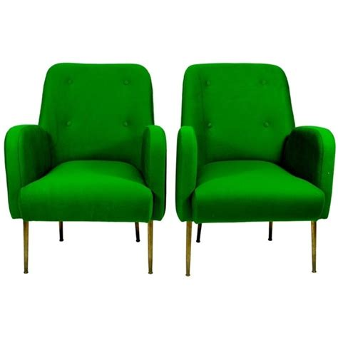 colorful armchairs pair of vintage green armchairs home colorful