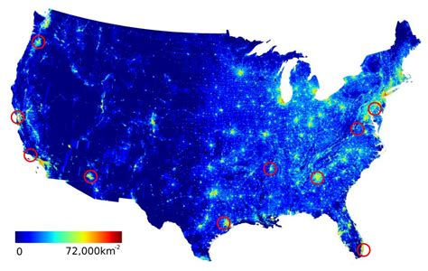 usa map km researchers root out the limits of social mobilization