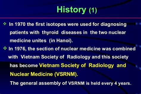 society of nuclear medicine technologist section current status of nuclear medicine