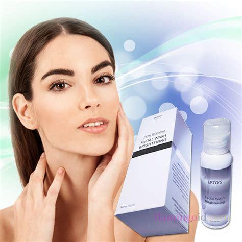 Ertos Wash Bpom jual ertos care produk kecantikan berkualitas dan aman bpom
