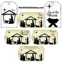 christmas hang tags gift tags northpolechristmascom