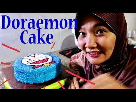 tutorial cemilan unik cara membuat kue karakter doraemon universitas wira
