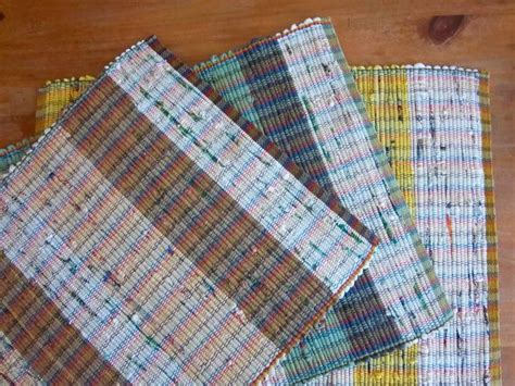 rugs woven from plastic shopping bags saw these at a