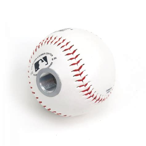 Baseball Shift Knob baseball transmission gear shift knob with universal