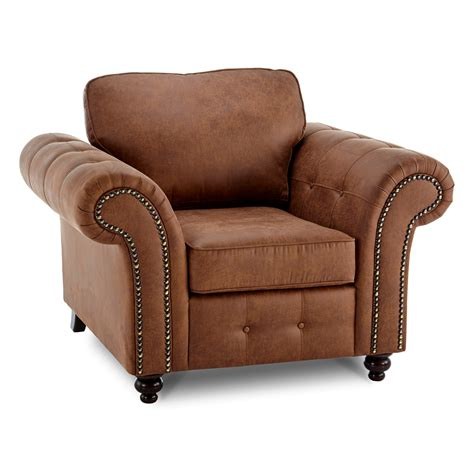 Leather Armchairs Uk by Oakland Faux Leather Armchair Next Day Delivery Oakland